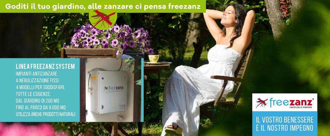 Impianto antizanzare protezione naturale contro le zanzare - Rimedi contro le zanzare in giardino ...